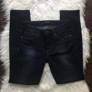 Joe's Dark Wash Ankle Skinny Jeans- 26